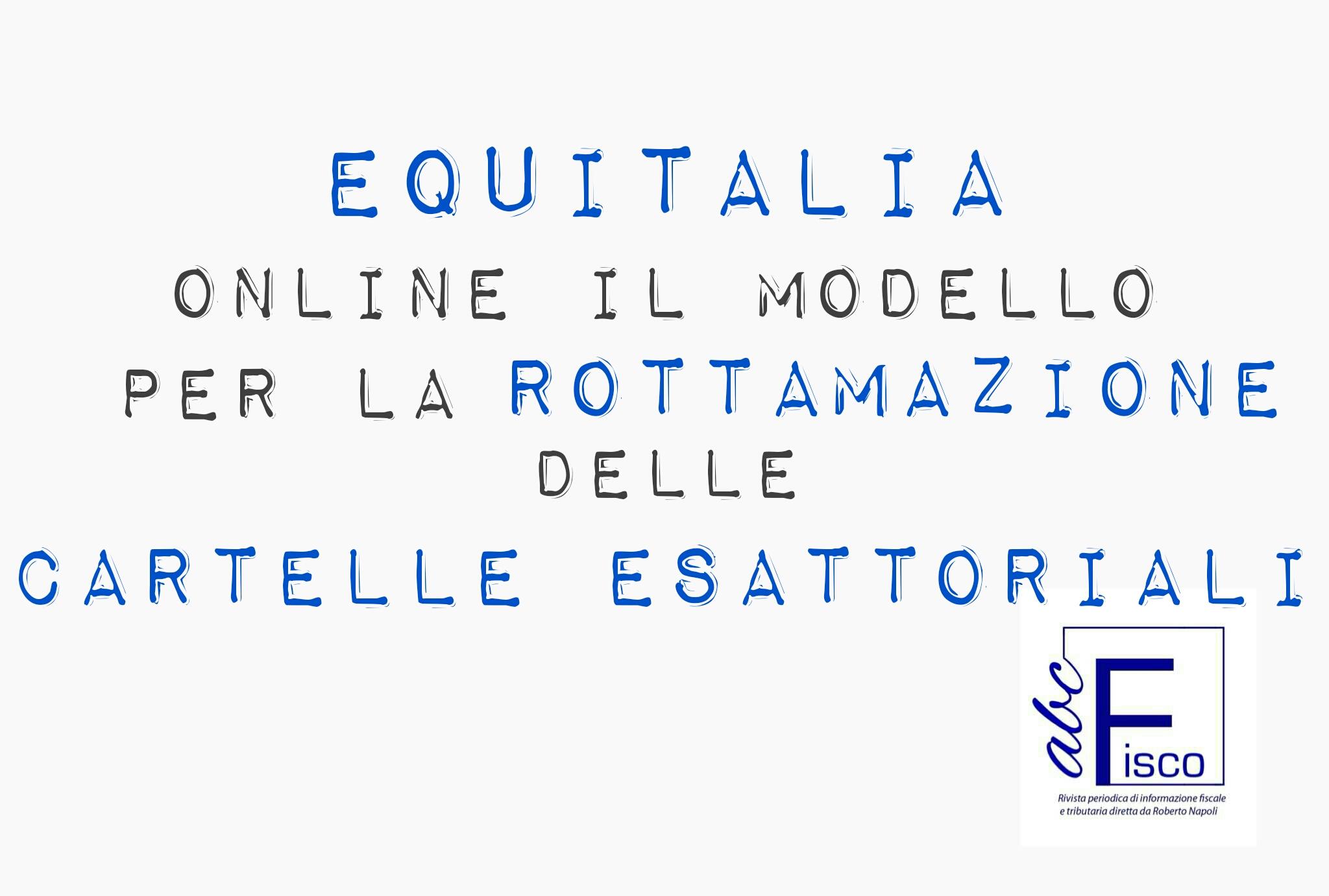 Online il modello per la rottamazione delle cartelle for Rottamazione cartelle esattoriali